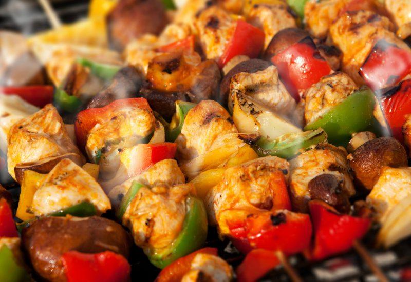 Chicken tandoori kebabs