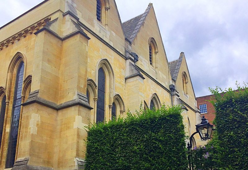 Inner temple church on a Summer's day